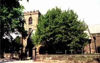 all saints church daresbury