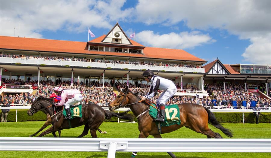 Race fixtures throughout the year at Chester Racecourse