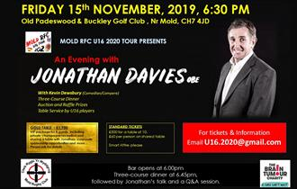 An evening with Jonathan Davies, OBE