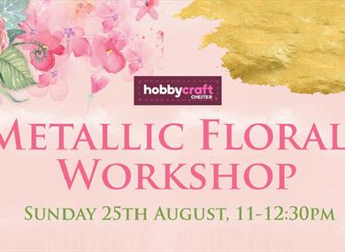Metallic Floral Workshop