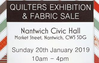 Quilters Exhibition & Fabric Sale