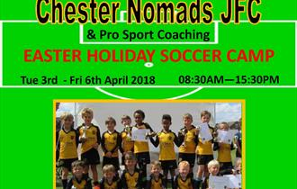 Chester Nomads JFC Easter Holiday Soccer Camp