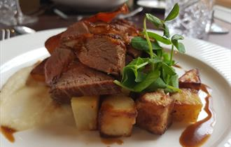 Delicious meat served at the 1699 Brasserie in Chester