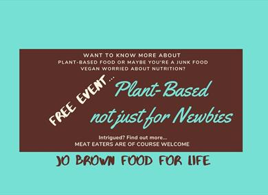 Introduction To Plant - based Nutrition Free Event