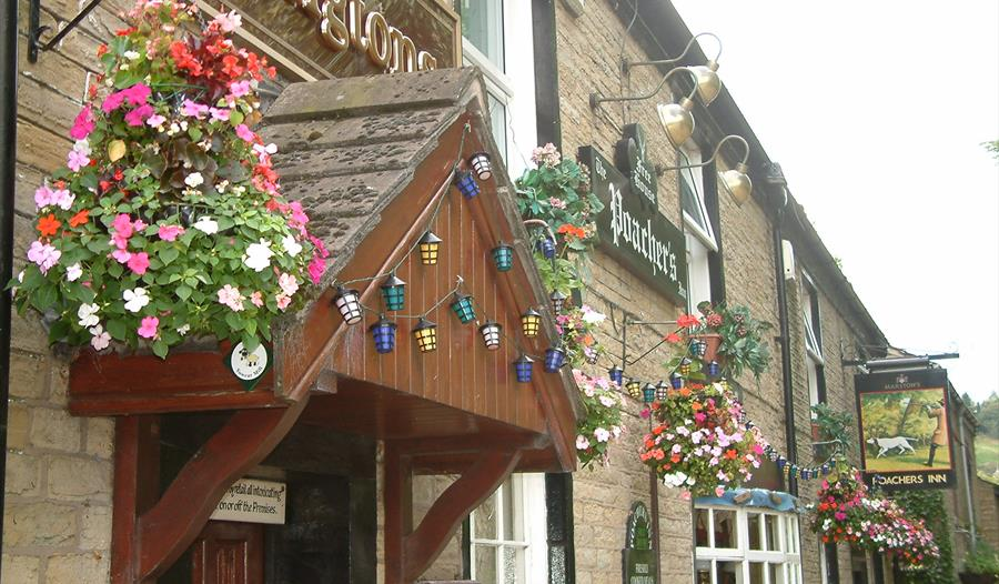 exterior of Poachers Inn Bollington