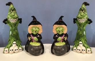 Witches & Goblins Ceramic Painting