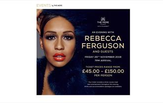 An evening with Rebecca Ferguson