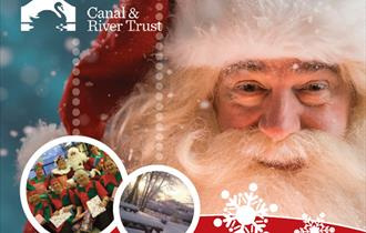 Santa Cruises at Anderton Boat Lift!