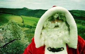 Father Christmas at Tegg's Nose Country Park