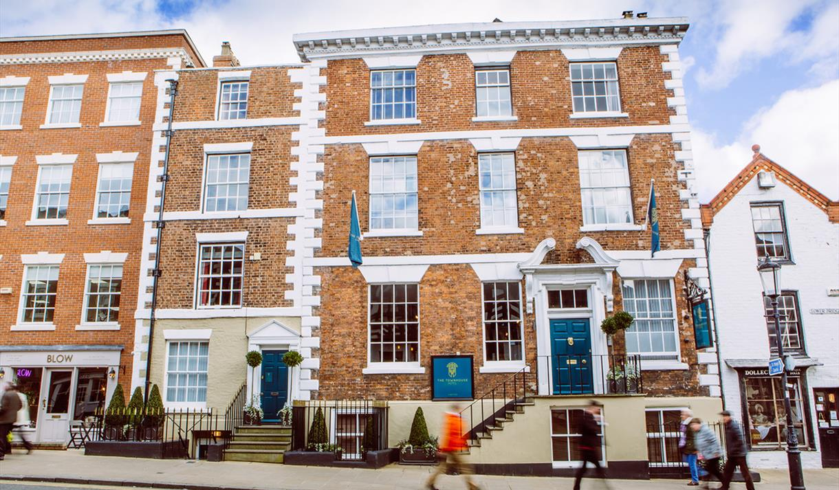 The Townhouse Hotel, perfectly situated in Chester city centre